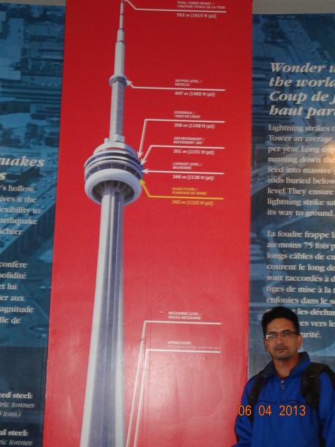CN Tower details