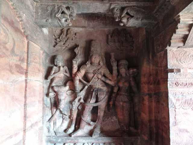 Cave 1 - Ardhanareeshwara