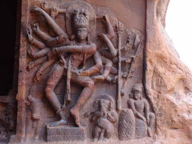 Cave 1 - Dancing Natraj with 18 Arms