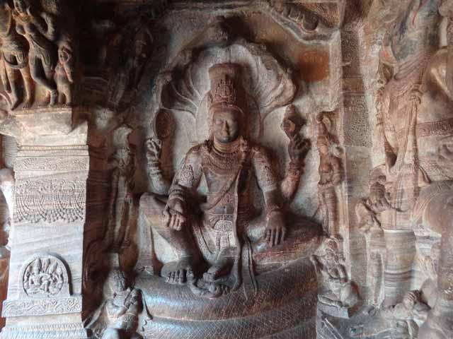 Cave 3 - Lord Maha Vishnu