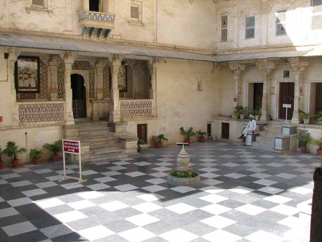 Foundation stone of City Palace