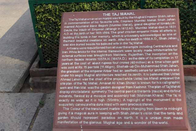 History of Taj