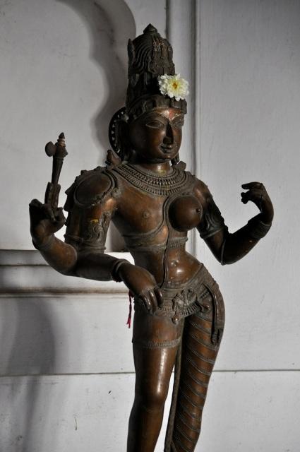 अर्द्धनारीश्वर शिव-पार्वती !