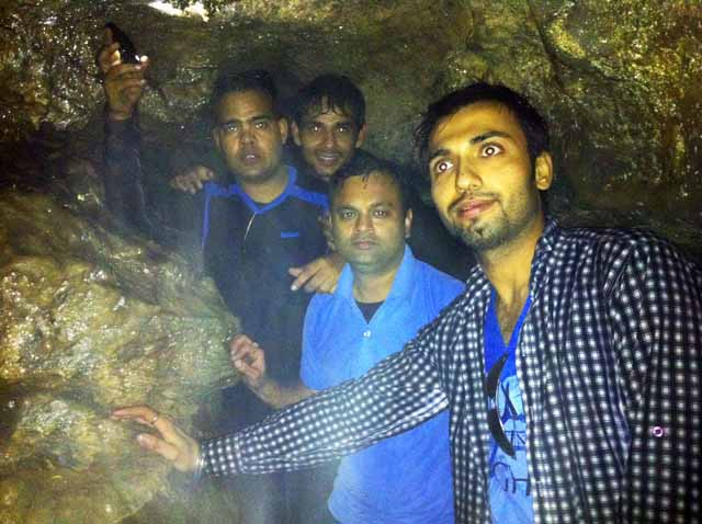 Ghosts inside the mysterious caves