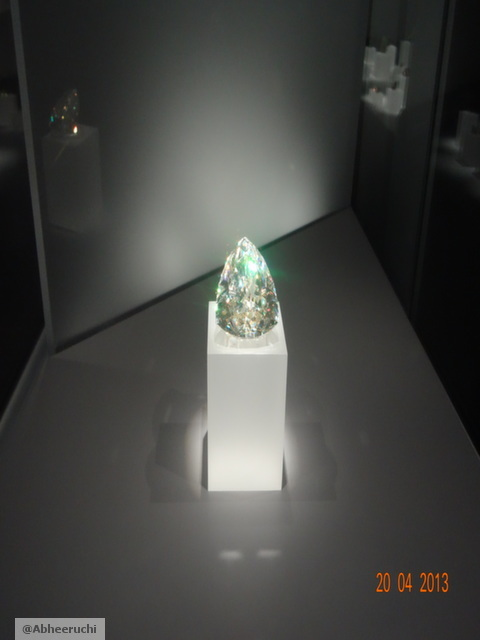 "Light of the Dessert ""Cerrussite"" Gem"