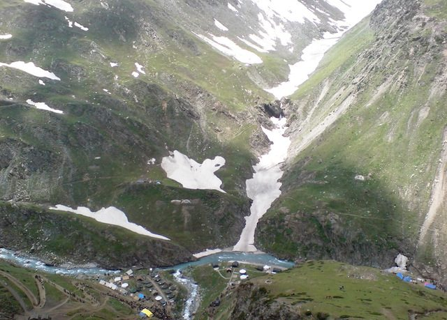Sangam Valley from Top