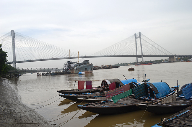 The Vidyasagar Setu - 'the second Hooghly Bridge'