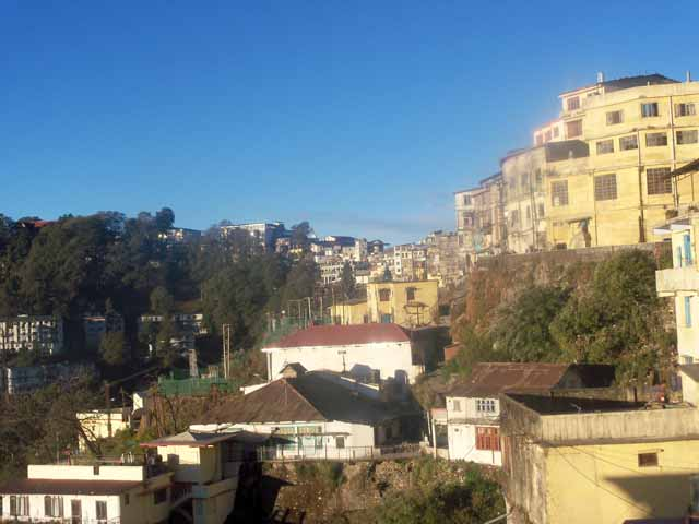 A glimpse of Mussorie