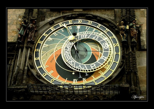 Astronomical clock—the oldest functioning one