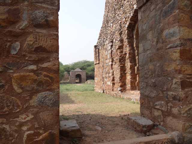 Balban Tomb Gateway - View from Tomb