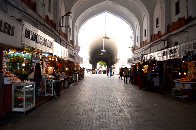 Chhatta Chowk - The covered bazar