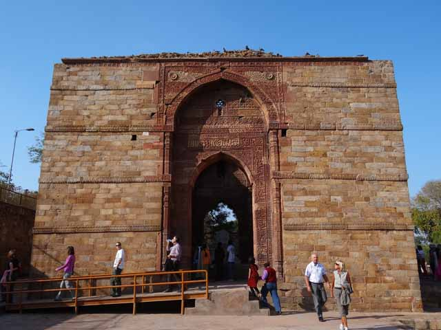 Iltutmish Tomb with Pishtaq