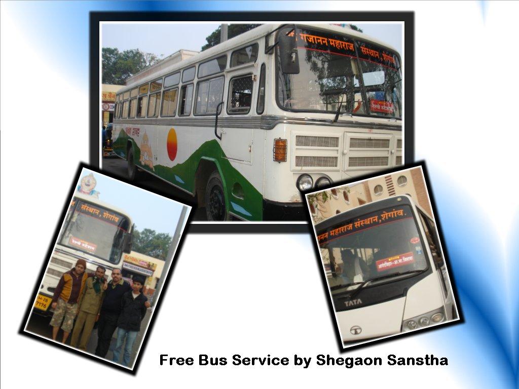 Free Bus Services at Shegaon - Ghumakkar - Inspiring ...