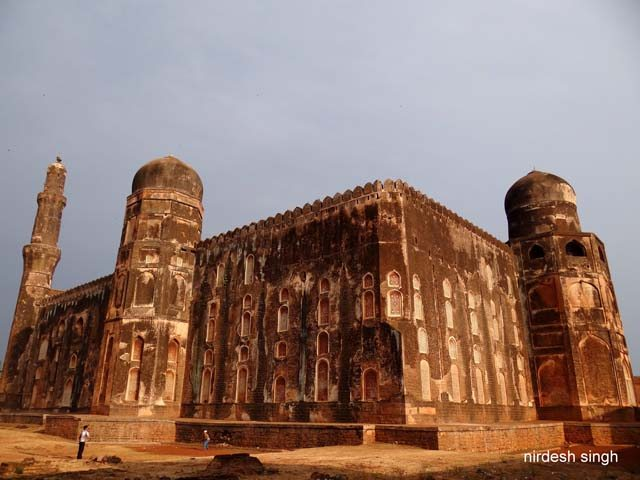 Khwaja Mahmud Gawan Madrasa - Rear View