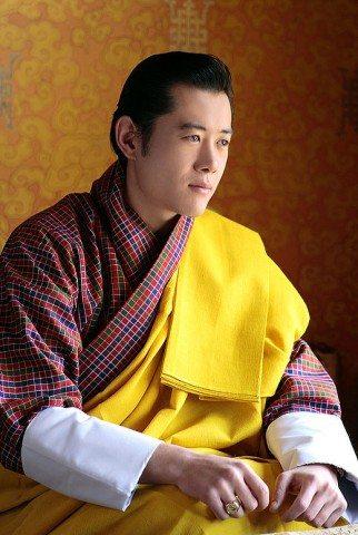 Handsome King of Bhutan, His Highness Jigme Khesar Namgyel Wangchuk