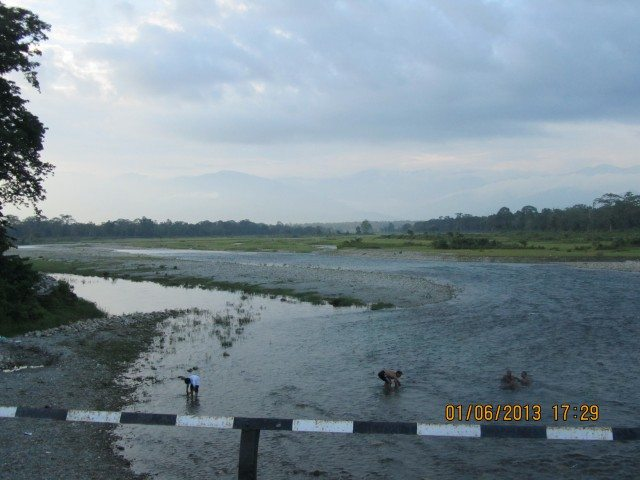 River Murti at Dusk