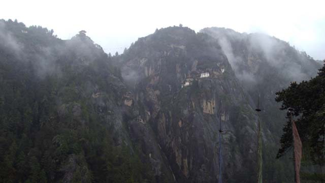 Taksang Gompa shrouded by Mist