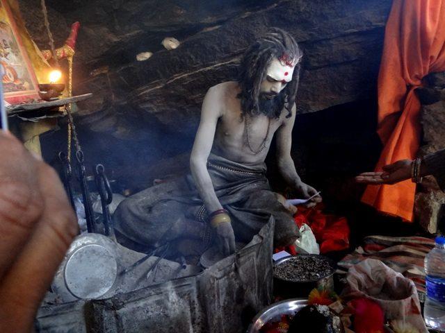 The Naga Sadhu