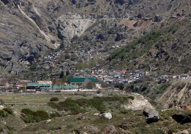 The last Indian village before the China border - Mana