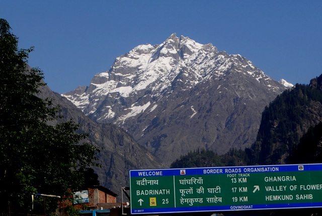 View in Govindghat