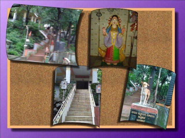 Way towards Kodiar mata Temple