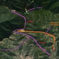 Google maps view of Nag tibba