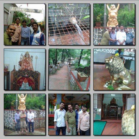 Way towards Jag Mata Temple