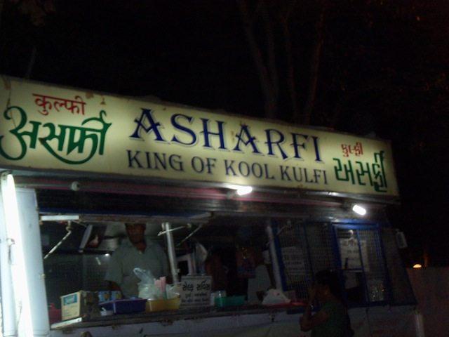 The famous Ashrafi Kulfi