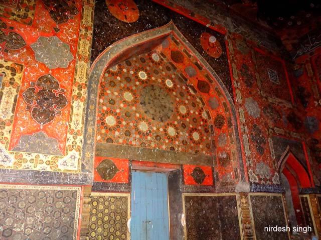 Ahmad Shah I Tomb - Eastern Wall