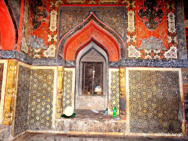 Ahmad Shah I Tomb - Western Wall with Mihrab
