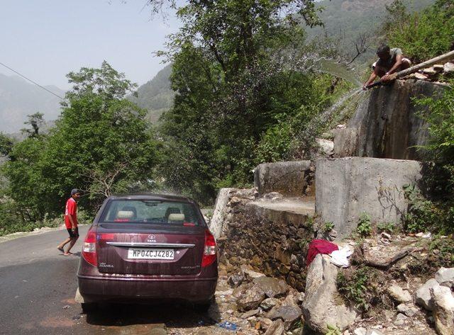Car wash point!