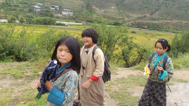 Girls to school