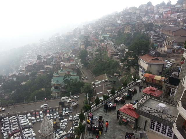 View of Shimla from top