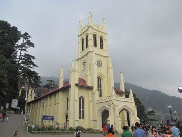 Landmark - Neo-Gothic structure Christ Church at The Ridge