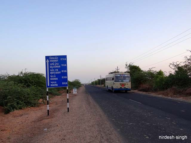 Kutch - On the Way to Kalo Dungar