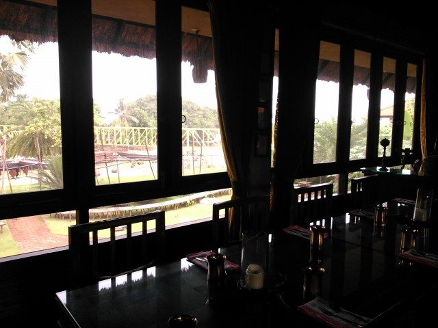 View of Hooghly River from Dining Hall