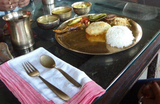 Bengali Zamindari Thali