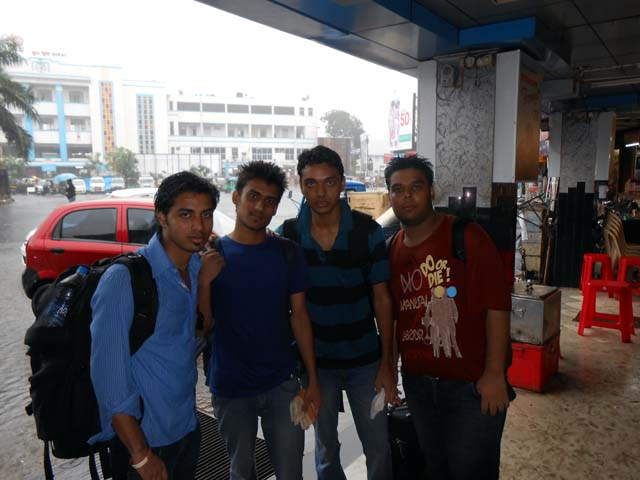 Drenched at Surat