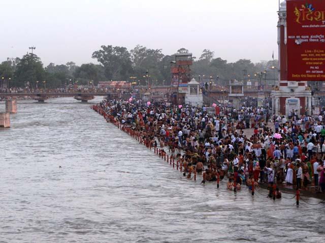 Har ki Pauri, Haridwar for Ganga Aarti
