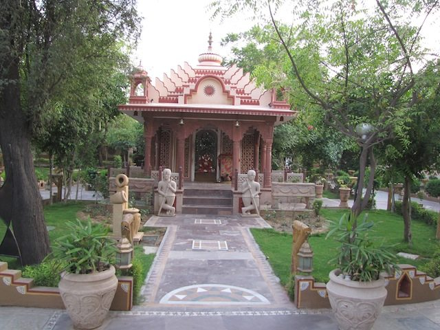 Mandir at the Entrance