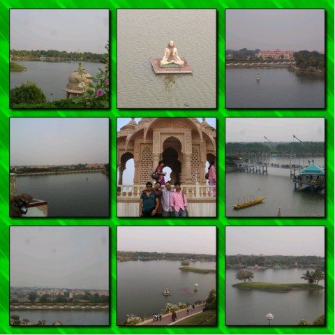 View from Dhyan Mandir