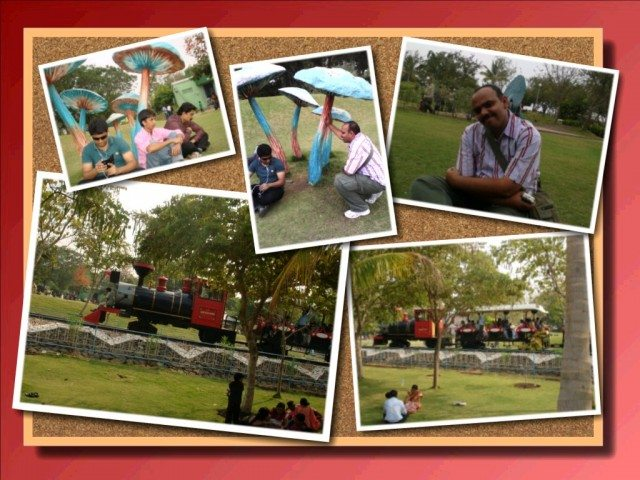 Toy Train & Rest Time