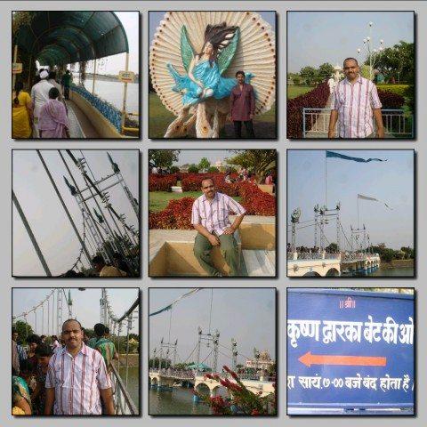 View of Shree Krishna Dwarka Bet