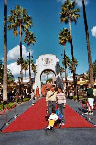 LA Universal Studio Entrance