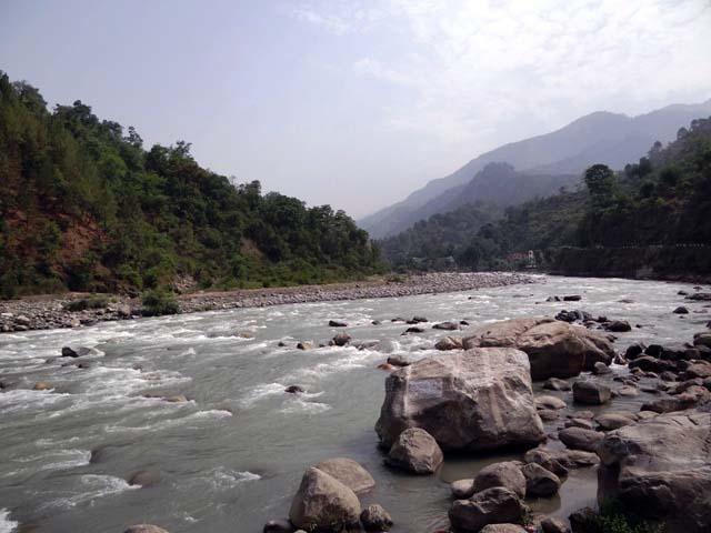 Mandakini at Chandrapuri