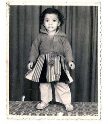 Reema, in younger days