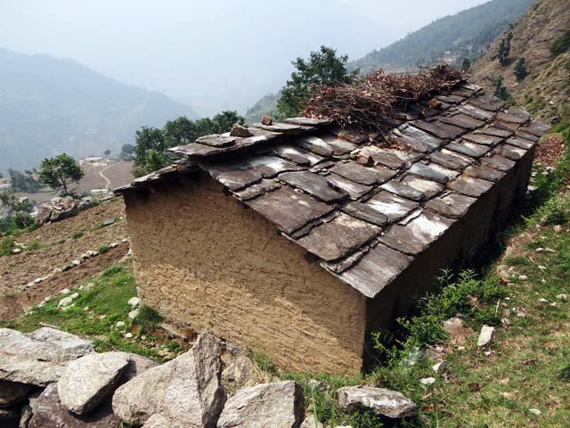 Slate tiled roofs
