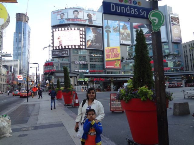 Morning Hours at Yonge-Dundas Square