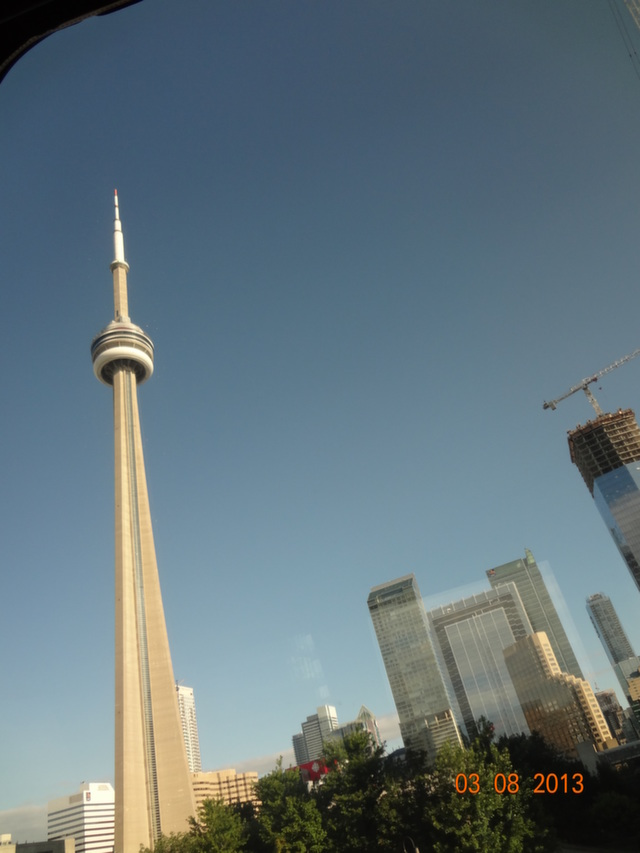CN Tower - On our way