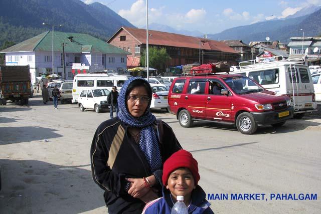 Market place - Pahalgam